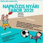 Napközis tábor Székesfehérvár 2021. Nyári táborok a Köfém Művelődési Házban