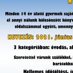 Olvasópályázat Zircen, a Békefi Antal Városi Könyvtárban
