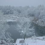 Horgászat télen a Tisza-tó partján wellness szállodában, a Tisza Balneum Hotelben Tiszafüreden