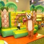 Játékos foglalkozás a Csigakert Játszóházban, a Wellness Hotel Gyula-ban