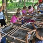 Szövés fonás gyerekekkel! Kenderfeldolgozás és tarisznyaszövés Nyíregyházán
