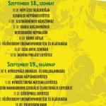 Sóstói Múzeumfalu programok 2021. Események, rendezvények, foglalkozások