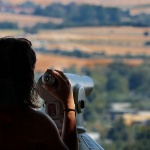 Vörös-kő kilátópont Leányfalu