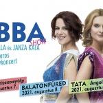ABBA koncert 2021. Zenekaros nagykoncert Janza Kata és Polyák Lilla előadásában