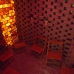 Komáromi sószoba fürdőbelépővel a Brigetio Gyógyfürdőben