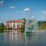Pünkösdi hosszú hétvége fürdőbelépővel Gyopárosfürdőn, a Hotel Corvus Aqua-ban