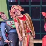 Oz, a csodák csodája előadás a veresegyházi Mézesvölgyi Szabadtéri Színpadon