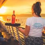 Balatonfüredi naplemente hajózás 2021. Romantikus egyórás sétahajózás