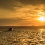 Sétahajózás Keszthelyről 2021. Romantikus naplemente túra nyáron