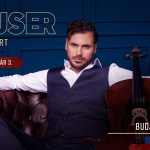 Hauser koncert Budapest 2021. Online jegyvásárlás