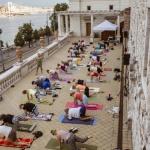 Jóga program a Várkert Bazárban 2021