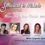 Musical gála 2021. Musical & Miskolc Symphonic, online jegyvásárlás