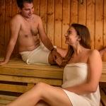 Szauna a Balatonnál, finn és infra szauna, gőzfürdő wellness szállodánkban