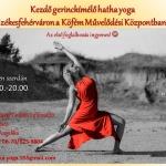 Hatha jógaórák a Köfém Oktatási és Közművelődési Házban 2020