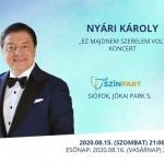 Nyári Károly koncert 2020 Siófok