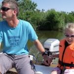 Tisza-tó csónaktúra Poroszló, Csónakos hétvége az Ökocentrumban