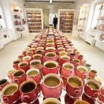 Rózsaszín Zsolnay Kiállítás Pécsen a Zsolnay Negyedben