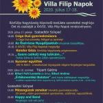 Révfülöpi Villa Filip Napok 2020