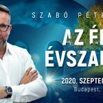 Szabó Péter előadás és tréning 2020