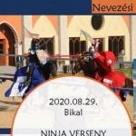 NINJA Verseny 2020 Bikal Élménybirtok
