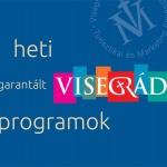 Heti garantált programok Visegrádon
