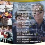 Poroszló mozi, filmvetítés hétvégente és ünnepnapokon a Tisza-tavi Ökocentrumban