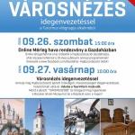 Turizmus Világnapja Hajdúszoboszló 2020. Városnézés idegenvezetéssel