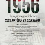 Nemzeti ünnep, 56-os rendezvények Szekszárdon
