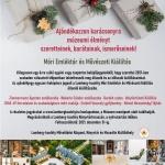 Múzeumi ajándékjegy karácsonyra, múzeumi élmény ajándékba szeretteinek a Lamberg-kastélyban