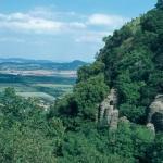 Bazaltorgona tanösvény ökotúra a Tapolcai-medencében, a Szent György-hegyen