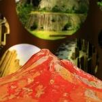 Osztálykirándulás a Kemenes Vulkán Parkba, vulkanológiai kiállítás, vulkántúra, foglalkozások