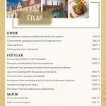 Étel rendelés Tatán házhozszállítással a Kristály Imperial Hotel étterméből