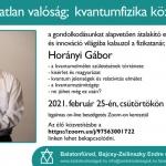 Balatonfüredi előadások, beszélgetések 2021. ONLINE programok a Zsidó Kiválóságok Háza szervezésében