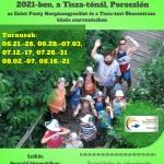 Tisza-tavi horgásztábor a Poroszlói Ökocentrumban 8-14 éves gyerekeknek
