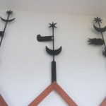 Oromdísz kultúrtörténeti kiállítás, régi idők kovácsoltvas motívumai Dévaványán