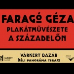 Időszaki kiállítás Budapest 2021. Különleges szabadtéri plakátgyűjtemény a Várkert Bazár teraszán