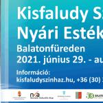 Kisfaludy Színházi Fesztivál 2021  Balatonfüred