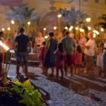 Fáklyás idegenvezetés az éjszakai belvárosban Székesfehérváron 2021