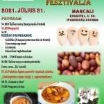 Burgonyás ételek fesztiválja Marcali 2021
