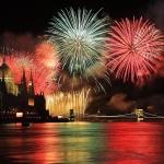 Tűzijáték Budapesten, romantikus tűzijáték néző hajóút svédasztalos vacsorával