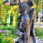 Varga Imre szobrai Siófokon, városnéző séta