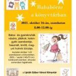 Bababörze Balatonfüred 2021. Baba- és gyerekruhák, játékok csereberéje a könyvtárban