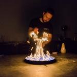 Elektromosság kísérletek az Öveges színpadon a Csodák Palotájában