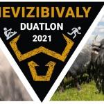 HEVIZIBIVALY Duatlon verseny 2021 Hévíz. Evezés és futás, Hévíz-patak oda-vissza