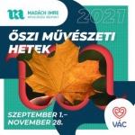 Váci Őszi Művészeti Hetek 2021