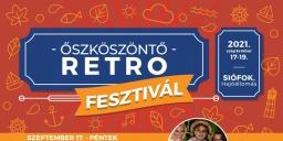 Retro Fesztivál 2021. Őszköszöntő Fesztivál Siófokon