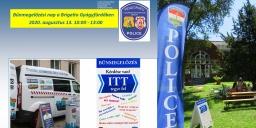 Bűnmegelőzési nap Komárom 2020 Brigetio Gyógyfürdő