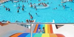 Komáromi strand, a Brigetio Gyógyfürdő strand része várja vendégeit