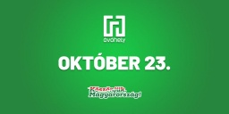 Emlékműsor október 23. alkalmából az Óvóhely kultúrbunkerben