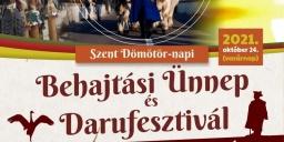 Szent Dömötör-napi Behajtási ünnep és Darufesztivál 2021